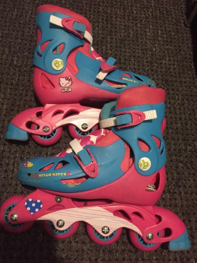 Hello kitty roller blades