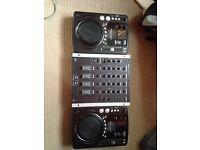 American Audio CDJS (with Mixer)