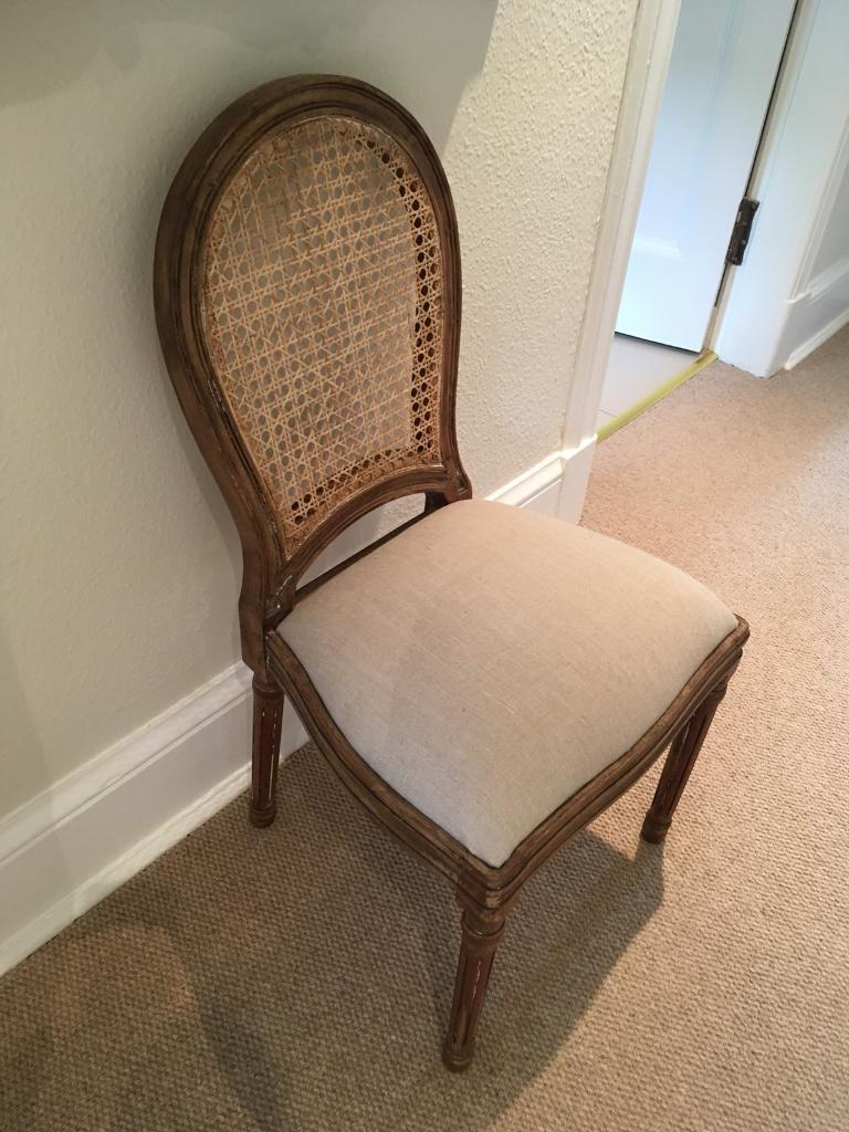 French Dining Bedroom Desk Chair