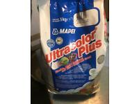 5kg bag of floor tile grout, unopened
