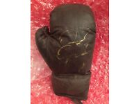 Floyd Mayweather jr Hand signed boxing glove with COA
