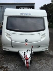 2007 Sprite Quattro 6 berth twin axle caravan in excellent condition.