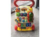 Vtech baby walker with phone!