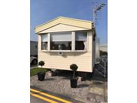 Caravan for hire at Newton Hall Blackpool This weekend 2 adults 4 children £250