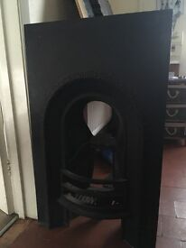 Cast Iron Victorian Fire Insert