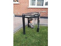 Jamie Oliver BBQ with utensils and cover