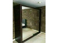 DELIVERY TIME BERLIN SLIDING DOOR FULL MIRROR WARDROBE SAME/NEXT DAY DELIVERY