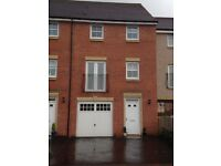 4 bed Townhouse for rent next to Larbert Station