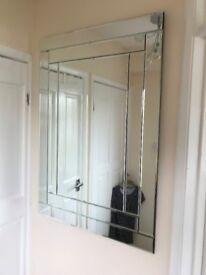 Mirror ,very nice ready to hang