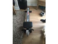 York rowing machine hardly been used