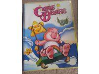 Care Bear MARVEL comics & folder - original 1980's!