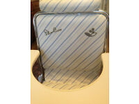 silver cross high chair, converts into low chair