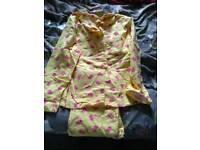 Pajamas with pig pattern