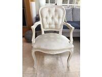 Louis X1V style antique painted chair