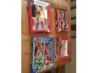 Disney Cars, finding memo, toy story, monsters inc assorted jigsaw