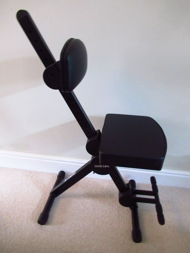 Magnificent Quiklok Dx749 Height Adjustable Musicians Or Guitar Stool W Backrest Footrest As New Condition In Ipswich Suffolk Gumtree Ocoug Best Dining Table And Chair Ideas Images Ocougorg