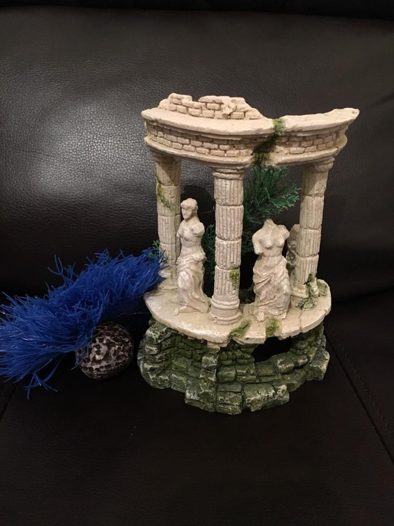 Small Bundle Joblot Of Biorb Fish Tank Aquarium Ornaments Decoration Grecian Goddess Sea Lily B191RS