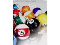 Snooker/pool cues