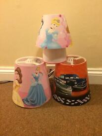 Kids lamp and lampshade