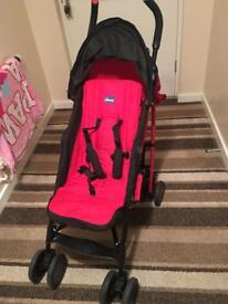 Red Chicco buggy