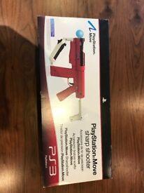 Playstation Move Sharpshooter Gun / Weapon