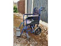 Wheelchair, nearly new