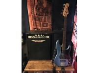 Squire Vintage P Bass & ashdown engineering mag420