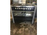 CDA range gas cooker and electric ovens 90cm