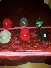 6 x new ERA caps