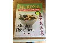 Unopened Murder Mystery dinner party game: Murder in the Orient