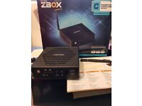 Zotac ZBox Nano CI521 Mini PC with 128gb SSD