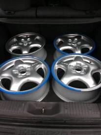 Subaru impreza x4 recon silver wheels