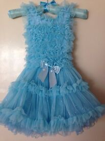 Girls party dress 5-6 years