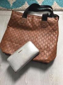 Gucci Hand Bag and DKNY purse