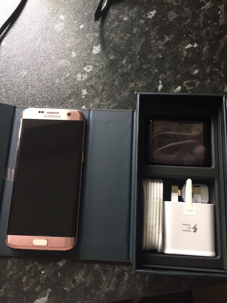 samsung galaxy s7 edge rose gold 32gb in wirksworth derbyshire gumtree. Black Bedroom Furniture Sets. Home Design Ideas