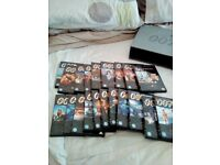 James bond DVD collectable box set (25 dvds)