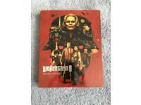 LE Wolfenstein 2 Brand New Steelbook case