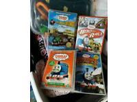 4 Thomas DVD'S