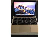 Mac gold 12 inch retina notebook