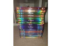 44 disney dvds
