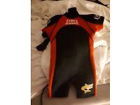 Childrens Shorty Wetsuit - Never Used