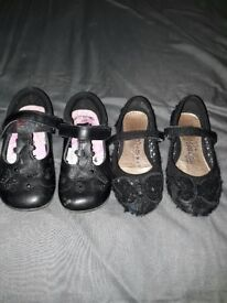 Girls school shoes bundle infant size 9