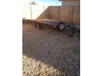 Load loading trailer 16foot long good brakes and tyers 2004