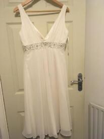 Wedding/cocktail dress NEW size 14