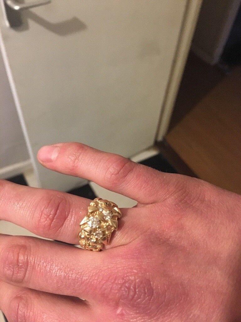 Men\'s 9ct gold ring   in Norwich, Norfolk   Gumtree