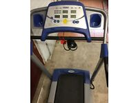 York Fitness treadmill trainer excellent condition console display hardly used.