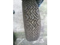 SNOW TYRES £29[2 TYRES £50] MORE DETAILS PLEASE RING ALSO SET OF ALLOY WHEELS AVAILABLE ALFAROMEO LA