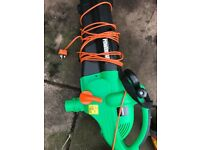 2400 watts power force blower , used just twice
