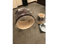 Drum Kit Shells and cymbals. Premier Olympic. Brand new