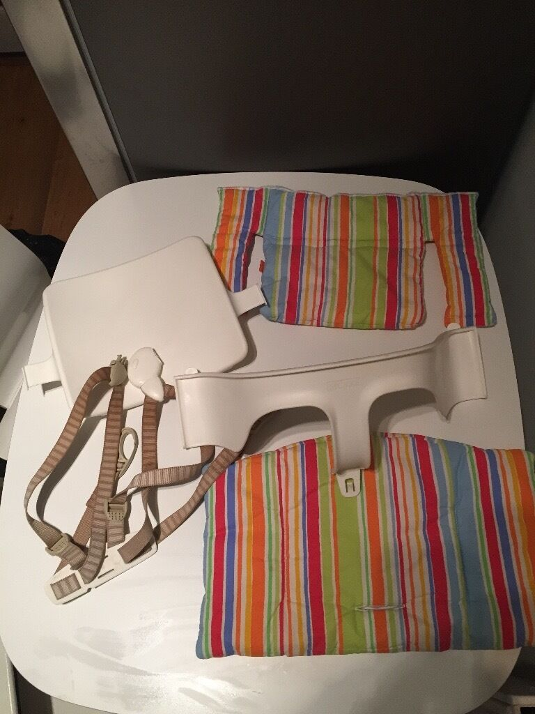 Stokke Tripp Trapp Cushions and Harness